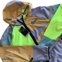 Nike Windrunner Wild Run Reflective Running Jacket CK0683 424 Men's Large L