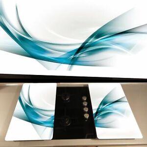 Copri Piano Cottura Fornelli Induzione  in vetro temperato 52x75