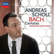 "ANDREAS  SCHOLL ""BACH KANTATEN BWV 82+169"" CD NEU"