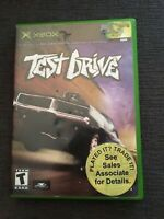 TEST DRIVE - XBOX - WORKS ON 360 - MISSING MANUAL - FREE S/H (E)