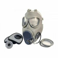 Military Czech Full Face Nbc Filters Gas Mask Respirator M10M w/ Hydration + Bag