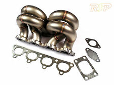 T3 Turbo Conversion Stainless Steel Ram Horn Manifold Fits Honda Civic D15 D16