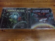 Lot of 2 Science Fiction Music From The Movies & Tv Cds Star Wars-Trek-Aliens +