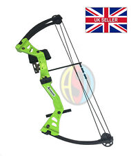 ASD Green Avenger Kids / Child Archery Compound Bow Set With Arrows and Armguard