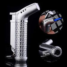 New Honest Brand Windproof Hollowed Jet Torch Flame Butane Gas Cigarette Lighter