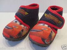 Disney LIGHTNING McQUEEN # schöne HAUSSCHUHE Gr. 19 rot blau Jungen Schuhe Kiga