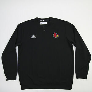 Louisville Cardinals adidas Polo Men's Black New with Tags