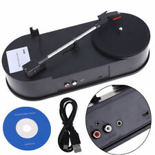 USB Vinyl Retro Turntable Record Player 33RPM LP to MP3 Converter MiniPhonograph