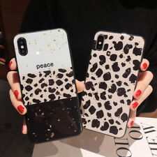 Leopard Glitter Bumper Soft Case Cover For iPhone 11 Pro 7 8 Plus 6s Xs Max XR X