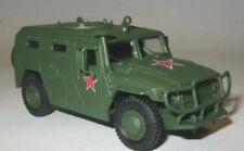 1/72 GAZ-2330 Tiger Russian Armored vehicle diecast & 60 magazine Fabbri