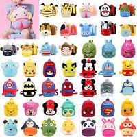 Kids Girls Boys Schoolbag Animal Cartoon Backpack Preschool Small Shoulder Bags