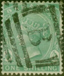 Bahamas 1882 1s Green SG44 Fine Used