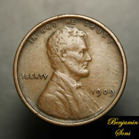 1909 VDB Lincoln wheat cent 1c 010421-03E Free shipping!