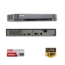 Hikvision DS-7208HQHI-K1 8 Channel Turbo HD Hybrid DVR (3MP, TVI, IP, AHD, 960H)