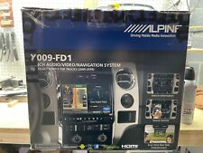 New listing Alpine X009-Fd1 9-Inch Audio/Video/Navigation System For Ford F150 Trucks(09-14)