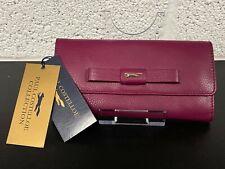 Paul Costelloe Pink 36G Leather Purse Wallet Fox BNWT