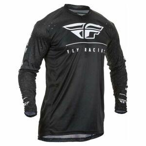 Motocross Maillot Jersey > Fly 2020 Lite MX Respirant - Noir/Blanc
