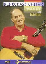 Bluegrass Guitar Fingerpicking Style: Eddie Adcock [Homespun Instruction DVD]
