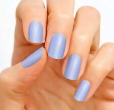 Color Street ASPEN SKY 100% nail polish strips Periwinkle Blue