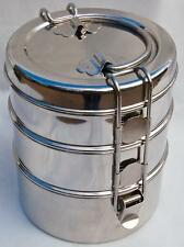 Stainless Steel  TIFFIN. By Garden Trading.