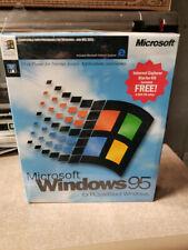 Microsoft Windows 95 Retail Box 3.5 Disk
