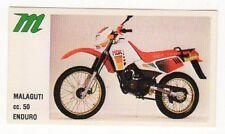 figurina MOTOR SHOW BAGGIOLI 1986 NEW numero 51 MALAGUTTI ENDURO