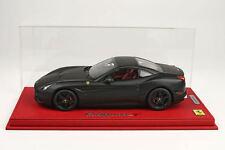 BBR Ferrari California T Closed Matt Black Deluxe w/Case 1:18 P1880MB *New Item!