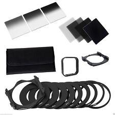 Complete ND 2 4 8 16 Filter Kit for Cokin P+Square Filter Holder+Adapter+Hood