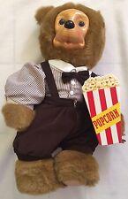 "Robert Raikes 1993 Addison the Circus Goer Wooden Bear Doll 19"" w Original Box"