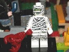Lego Minifigures - Series 3 -  Egyptian Mummy - Lego mini figure with base