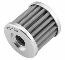 FLO Reusable Stainless Steel Oil Filter For 2000-2008 Suzuki DRZ 400E DR-Z400E