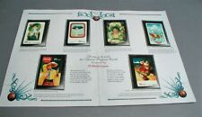 1994 Sprint Coca Cola History of Advertising (5) 10 Unit Phone Cards w Folder