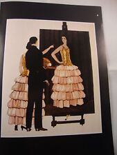 Art deco vintage fashion imprimé paul poiret robe design illus andré marty 1924