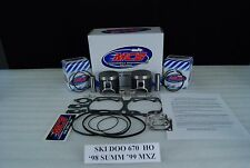 SKI-DOO 670 FORMULA TOURING MX-Z SUMMIT  MCB DUAL RING TOP END PISTON KIT