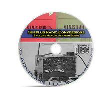 Surplus Radio Conversion Manuals, Old Time Radio OTR Repair Service Retro CD C04