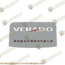 Mercury 2006-2012 135/150/175/200 'Verado Supercharged' Rear Decal