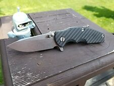 Hinderer Jurassic 2x2 Twill Carbon Fiber Scale(Knife NOT INCLUDED)SCALE ONLY!