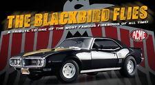 1968 PONTIAC BLACKBIRD ACME 1:18 FIREBIRD GM VINTAGE DRAG RACE GMP A1805201