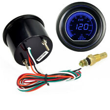 "2"" 52mm Blue LED Racing Car Oil Temp Display Temperature Celsius Gauge 12V 1PCS"