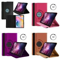 Case For Samsung Galaxy Tab S6 Lite 10.4 Various Color 360 Degree Rotating Cover