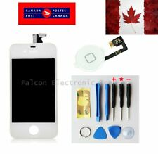 Replacement LCD Touch Screen Digitizer Glass for iPhone 4 White + button