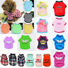 Pet Cat Puppy Small Dog Vest T-Shirt Coat Dog Clothes Apparel Thin Shirt Costume