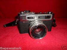 Yashica GS Electro 35 Rangefinder Filmkamera mit Yashinon DX 1:1 .7 F = 45mm Objektiv