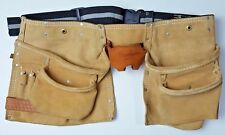 Craftsman 937723 Heavy Duty Leather Suede Tool Belt Pouch 718-s5