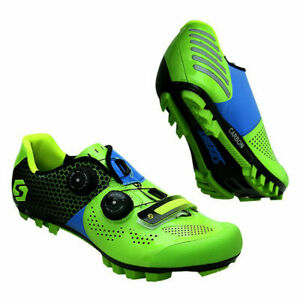 SIDEBIKE Cycling Racing SPD Bike Shoes Pro Athletic Road Bicycle MTB Shoes