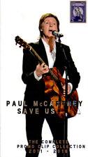 PAUl McCARTNEY - SAVE US  PROMO CLIP 2011-2016 - 4DVD LONG BOX DIGIPAK N°30/300
