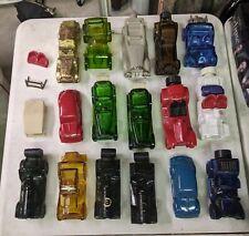 Vintage Avon Car Glass Cologne After Shave Bottles, Lot of 16. Some Full.