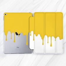 Yellow Paint Splash Abstract Art Case For iPad 10.2 Air 3 Pro 9.7 10.5 12.9 Mini