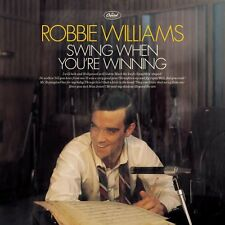 ROBBIE WILLIAMS ( NEW SEALED CD ) SWING WHEN YOU'RE WINNING ( BIG BAND )