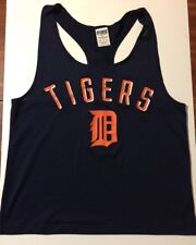 Victoria's Secret Pink/ Detroit Tigers Tank Top Shirt/ Extra Small/lPink On Back